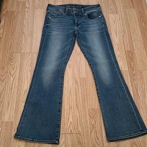 NWOT AEO Kick Boot Jeans